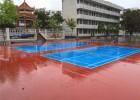 广西钦州做室外篮球场施工 包工包料做好 康奇体育
