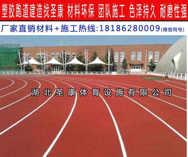襄阳塑胶跑道做法 塑胶跑道厂家 湖北塑胶跑道施工报价