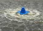 三相750W卷浪式曝气增氧机涌浪扬水式增氧机造浪式增氧机