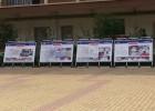 河南商丘铝合金广告框海报框宣传栏生产厂家