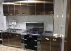 重庆厨房橱柜不锈钢橱柜台面整体橱柜定制欧式现代风格304
