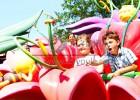 龙之盈厂家直销自控飞机花海乐园儿童亲子游乐设备