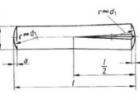 槽销半长锥槽DIN1472ISO8745