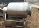 大量回收二手滚揉机不锈钢自动真空滚揉机