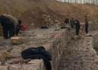 铅丝石笼防护边坡护坡、高锌格宾笼护脚