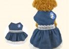 趣逗派宠物用品定制厂家宠物牛仔裙