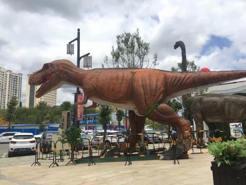 大型仿真动态恐龙展览租赁侏罗纪恐龙雕塑展览出租