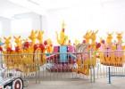 6臂袋鼠跳旋转游乐公园广场游乐园实力郑州奇乐迪厂家直销