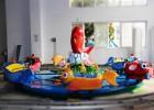 鲤鱼戏水鲤鱼轨道车游乐设备儿童爆款设备奇乐迪厂家现货直销