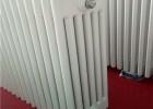 喷塑钢制柱形散热器@加工定做圆六柱散热器加工生产
