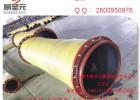 耐磨夹布胶管喷砂耐压胶管输沙输水泥胶管