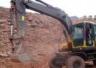 全液压轮式挖掘机