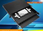 供应12口24芯SCLCFC抽拉式光缆纤终端盒配线架图文并茂