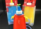 儿童环保水壶 530ml运动水袋 高品质折叠水袋运动折叠水壶