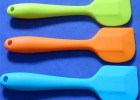 新款硅胶刮刀 烘焙工具 蛋糕工具 硅胶半透一体硅胶刮刀