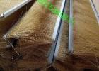 镀铜钢丝条刷\抛光除锈钢丝长条刷\不锈钢丝毛刷条\纯铜丝条刷