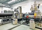 PE钢带螺旋成型波纹管生产设备