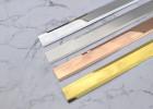 厂家直销不锈钢T型条批发扣条装饰条收口填缝瓷砖铝合金扣条