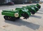 果园微耕机农用多功能管理机小型履带式自走开沟施肥自回填一体机