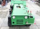 履带式开沟施肥机自走式多功能旋耕机35马力柴油微耕机除草工具