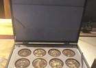上海造币罗永辉十二生肖双色纪念铜章