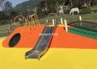 户外儿童不锈钢滑梯游乐场拓展设施游乐设备生产厂家直销