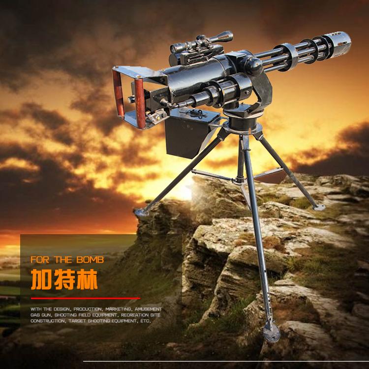 全自动连发水弹橡胶弹玩具气炮枪 公园广场靶场射击场设备