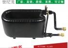 1-20P/匹套管式换热器 空气能热泵冷凝器 热交换器配件