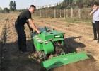 履带田园管理机作业效率高 除草旋耕施肥机行走迅速