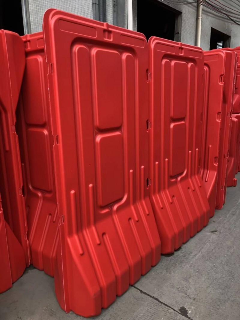 防撞高栏水马护栏 红色1.7米高道路施工围栏水马 厂家批发