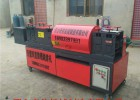 钢管调直机视频多功能钢管调直机厂家钢管调直除锈刷漆机图片