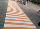 停车场划线 道路标线施工 停车场设计 划线施工工程