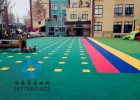 供应太原幼儿园悬浮拼装地板