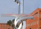 学校成长不锈钢雕塑  不锈钢校园感恩雕塑