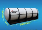 卧式化工包装桶净水设备
