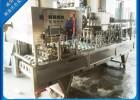 杯装纯净水灌装封口机 自动洗杯杯装水灌装封口机认准吕工机械