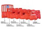 交通安全防撞水马护栏 吹塑三孔移动水马道路工程隔离围栏