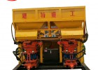 吊装一拖二双斗-自动上料喷浆机厂家\建特重工JPD-S2