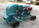 420型小型移動式柴油菌種木材粉碎機廠家直銷