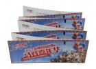 广州可连续打印易撕线折叠卷筒式热敏铜版纸彩色印刷门票印刷厂家