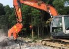 120挖掘机液压粉碎钳 挖掘机拆迁破碎钳