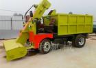 大型牧场专用清粪车 自动清粪车 自卸式粪便清理车图片