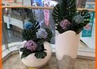 商场道具玻璃钢花盆花缸