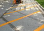 河南停车场划线,道路交通标示,标识标牌