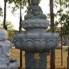 福建厂家雕刻古代观音 精品观音像 花岗岩卧观音佛像