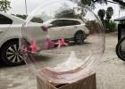 定制亚克力透明塑料空心圆球有机玻璃大型半球罩防尘罩
