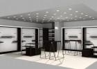济南服装展柜,男装精品柜,商场正装展示柜设计工厂