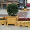 河北防腐木花箱|户外花箱—街道木质花盆