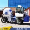 混凝土自动上料搅拌车厂家直销滚筒搅拌机运输车自上料