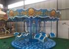 新款12座迷你小飞椅游乐设备梦幻飞椅户外室内旋转儿童娱乐设施